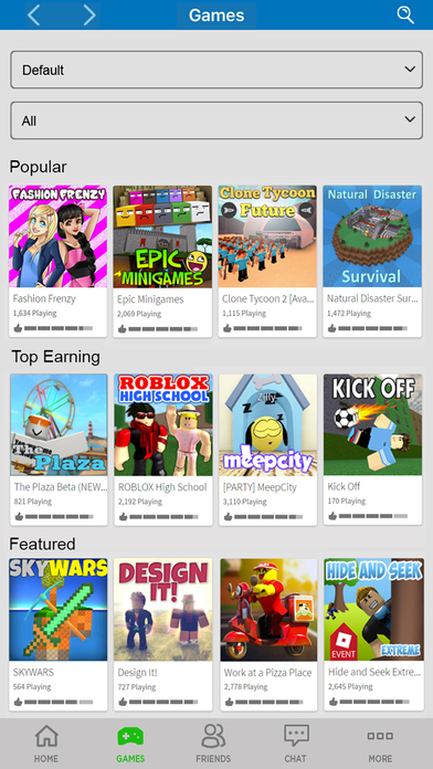 download ROBLOX apps 1