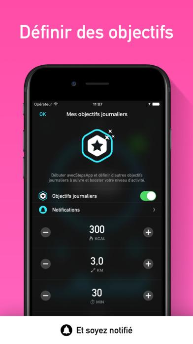 podom tre et compteur de pas by stepsapp 4 4 5 pour ios android windows phone. Black Bedroom Furniture Sets. Home Design Ideas