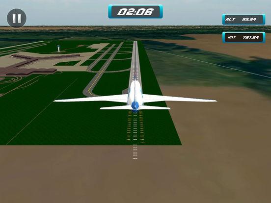 Plane landing game ios