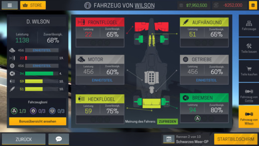 Motorsport Manager Mobile 2 Screenshot