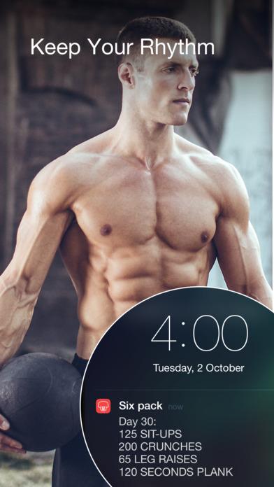 Bauchmuskeltraining - Übungen für Zuhause Screenshot