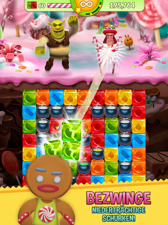 Screenshot 3 Shrek Sugar Fever