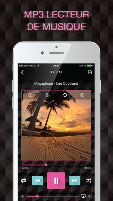 music player musique sans wifi par musitron dans l app store. Black Bedroom Furniture Sets. Home Design Ideas
