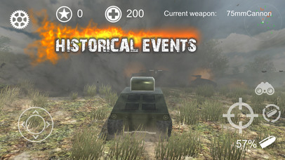 Screenshot 2 Realistic Battle Tank