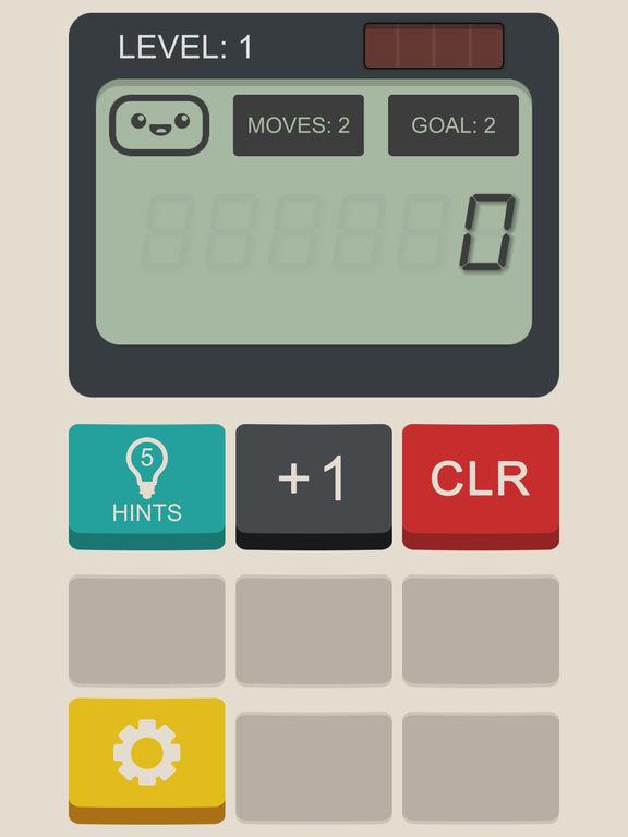 Screenshot 1 Calculator: The Game