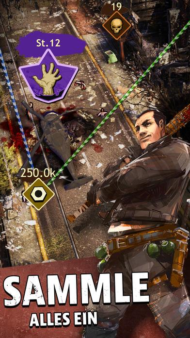 The Walking Dead: March To War iOS Screenshots