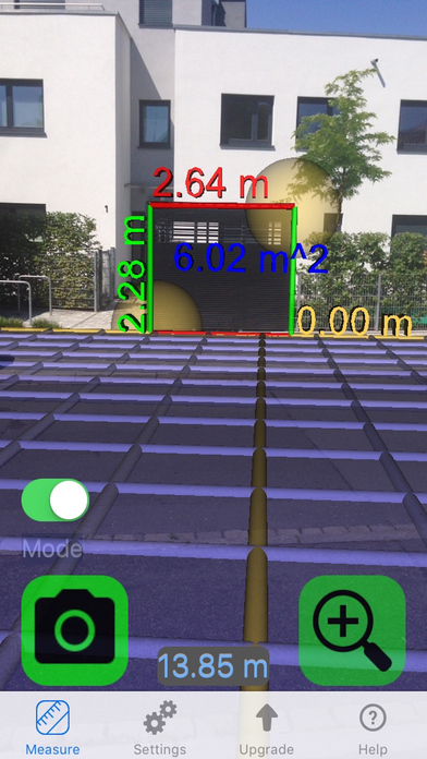 Video Measure - Measure height, width and distance with your camera Screenshot