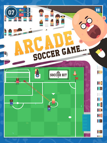 Soccer Hit iOS Screenshots
