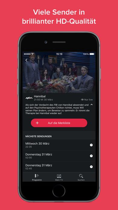 Magine TV – Live Online Fernsehen Screenshot