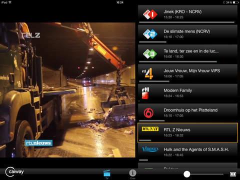 'Multiscreen TV' in de App Store Multiscreen Tv Caiway Inloggen