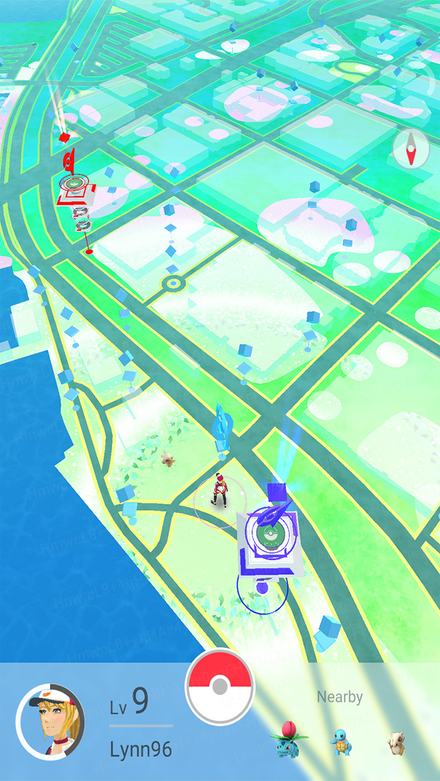 Screenshot 2 Pokémon GO