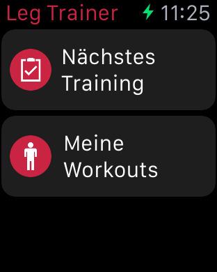 Runtastic Leg Trainer: Oberschenkel & Beine Screenshot