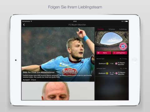 Yahoo Sport Screenshot