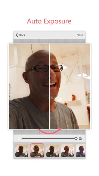 Microsoft Selfie Screenshot