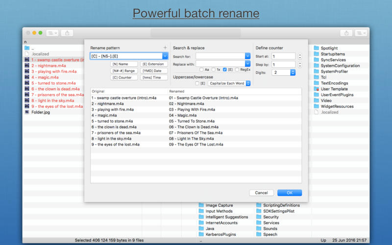 Nimble Commander Pro - advanced file manager Screenshots