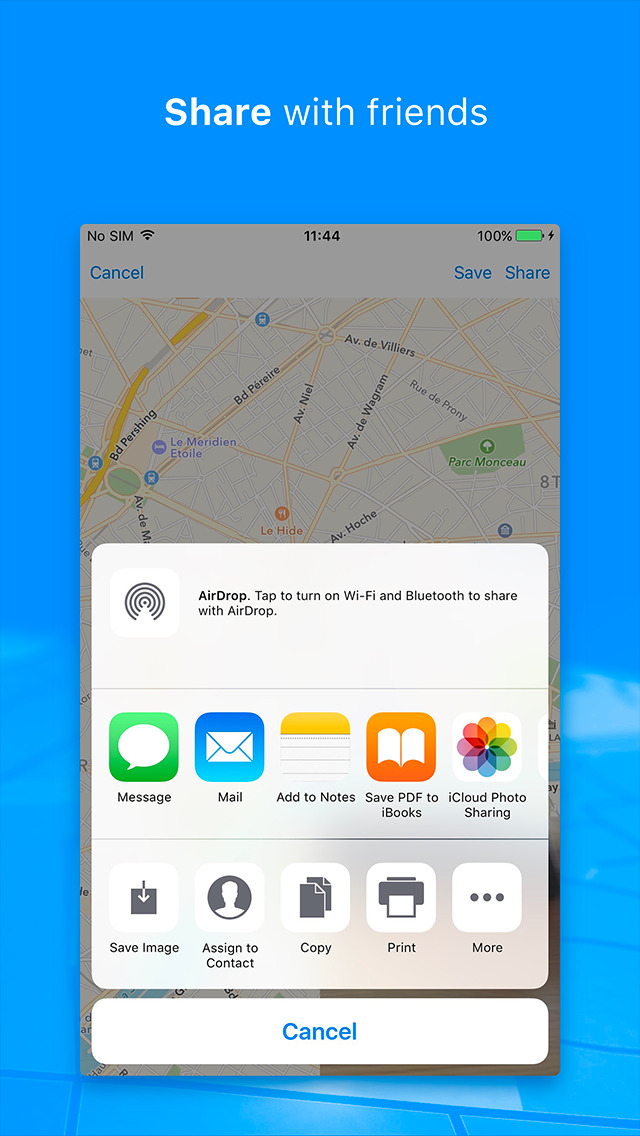 how to change my location in iphone