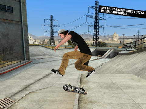 Skateboard Party 3 ft. Greg Lutzka iOS Screenshots
