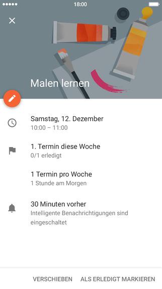 Google Kalender Screenshot