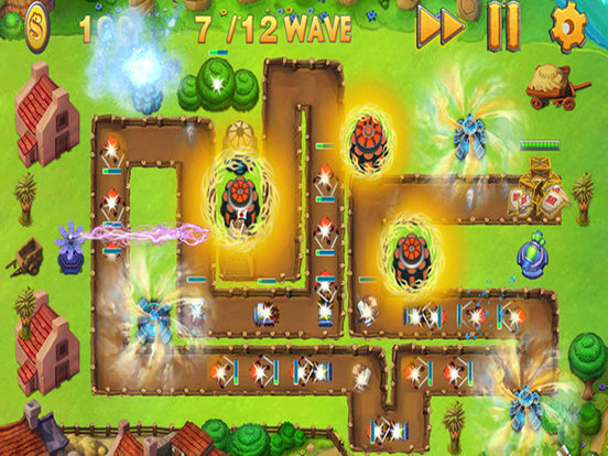 Empire Frontiers Defense:Free war Tower Defense Games Screenshots