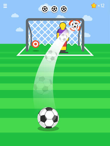 Ketchapp Football iOS Screenshots