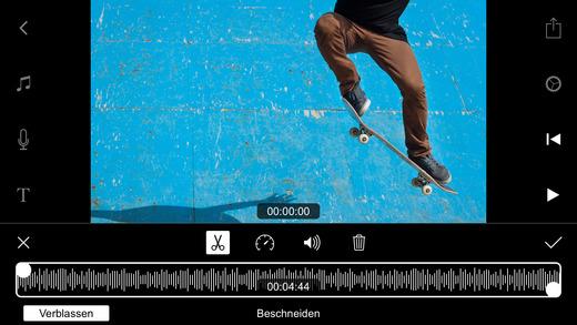 Videoschnitt  Filmmaker Pro Screenshot