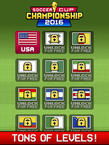 Soccer Cup Championship 2016 iPhone iPad