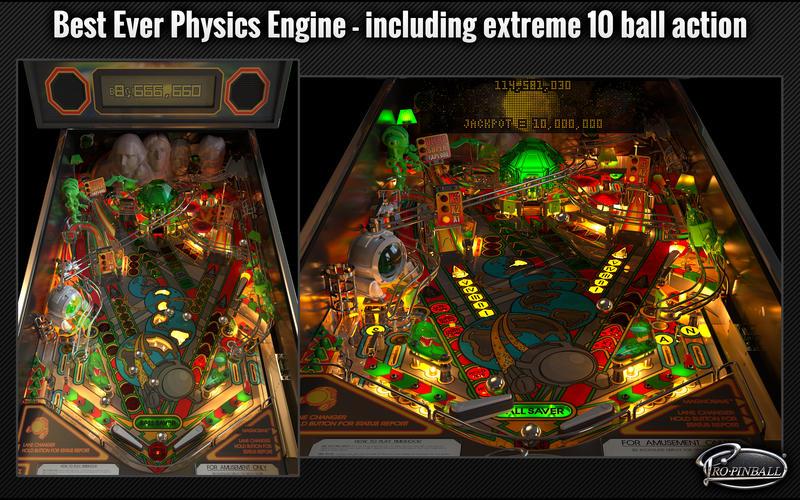Pro Pinball Screenshots