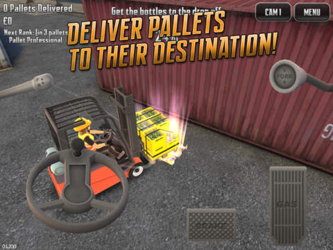 Extreme Forklifting 2 iOS Screenshots