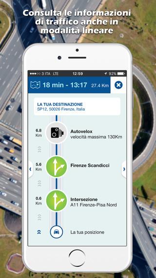 MY WAY  l'App ufficiale gratuita di Autostrade per l'Italia Screenshot