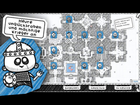 Guild of Dungeoneering iOS Screenshots