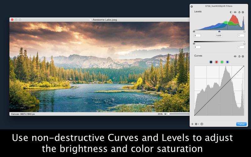 Acorn 5 - The Image Editor for Humans Screenshot