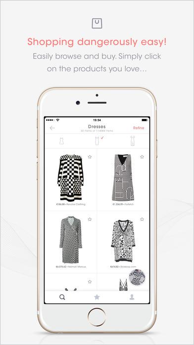 ASAP54 Search and Shop for Fashion Screenshot