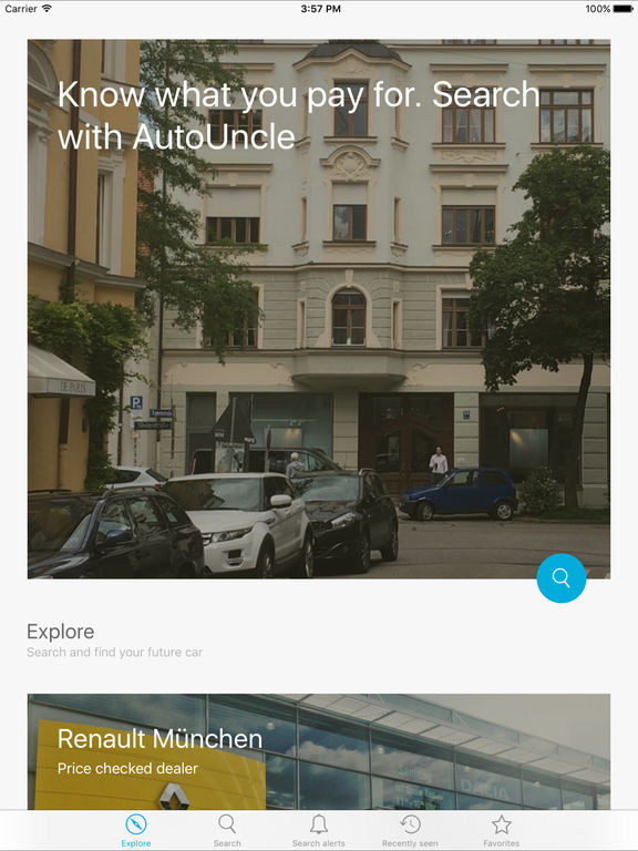 autouncle g nstige gebrauchtwagen im app store. Black Bedroom Furniture Sets. Home Design Ideas