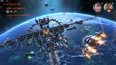 Galaxy on Fire 3 iOS Screenshots