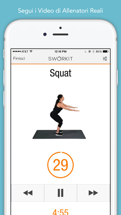 Sworkit - Personal Trainer Screenshot