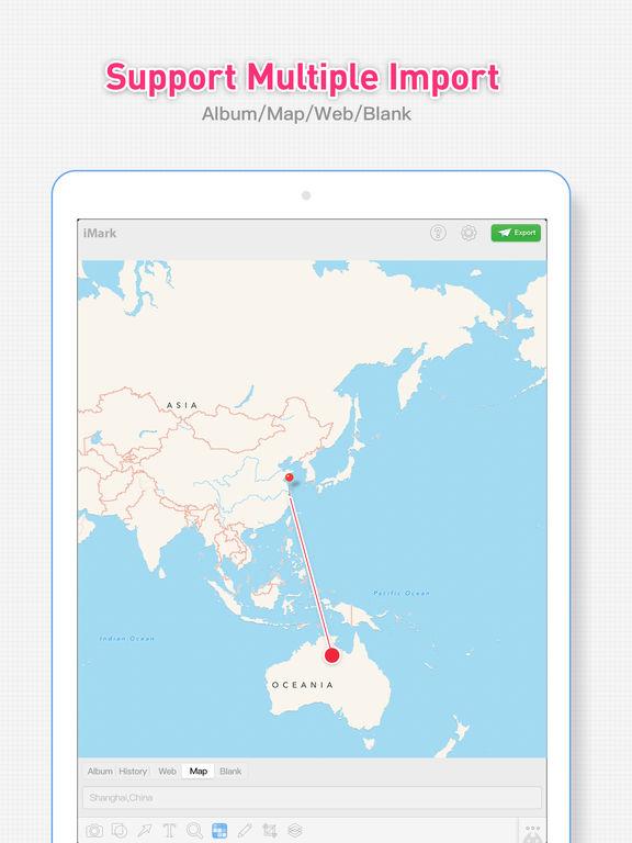 iMark · Image Annotation Tool Screenshot