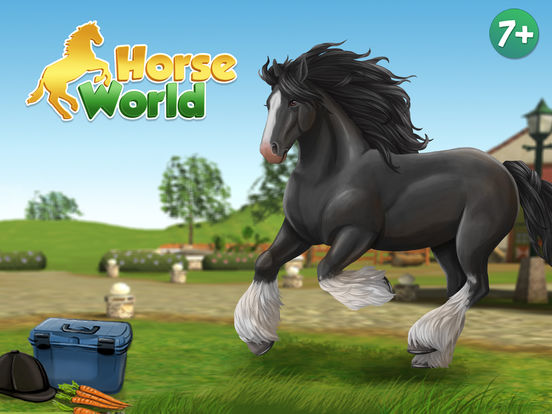 HorseWorld 3D: Mein Reitpferd Premium Screenshot