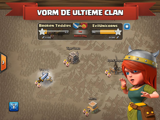 Clash of Clans iPad app afbeelding 4
