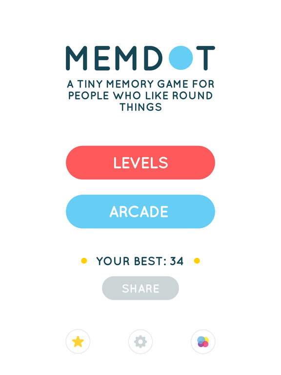 Memdot iOS Screenshots
