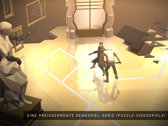Deus Ex GO iOS Screenshots