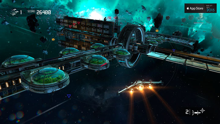 Galaxy on Fire - Manticore RISING Apple TV Spiel