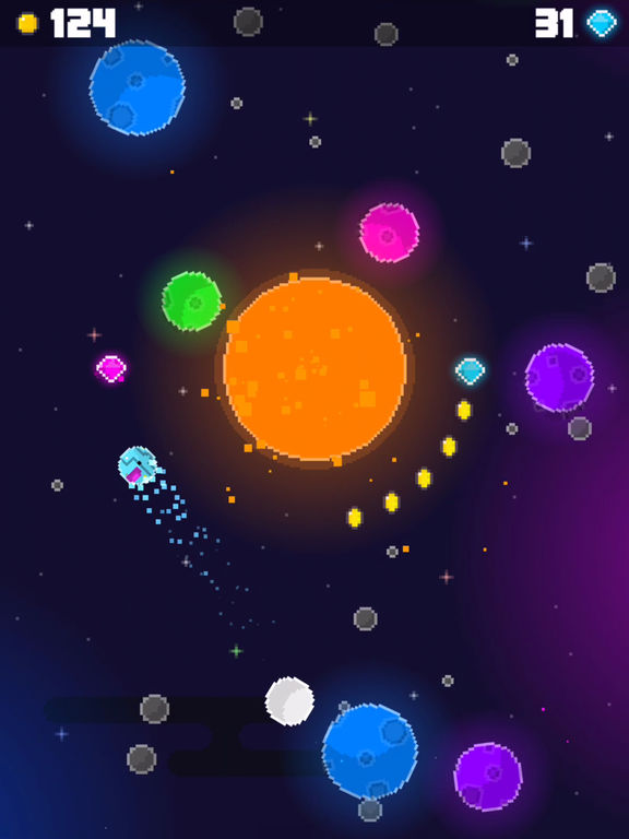 Swoopy Space iPhone iPad