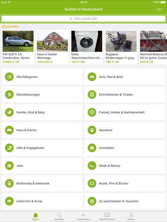eBay Kleinanzeigen - Kostenlos. Einfach. Lokal. Screenshot