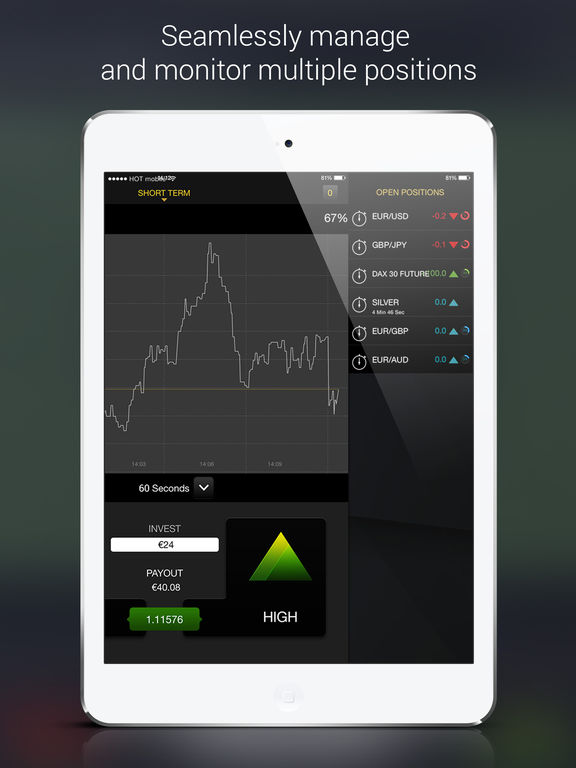 Binary options ipad app