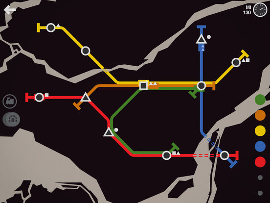 Screenshot 5 Mini Metro