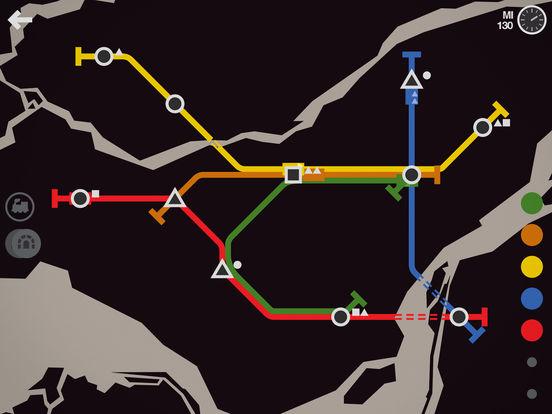 Screenshot 5 Mini Metro