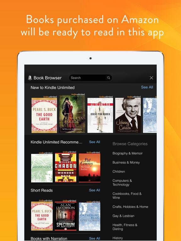 Kindle – Read eBooks, Magazines & Textbooks on the App Store