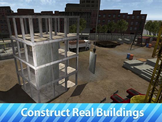 City Tower Crane 3D Simulator Full - Real city construction Screenshots
