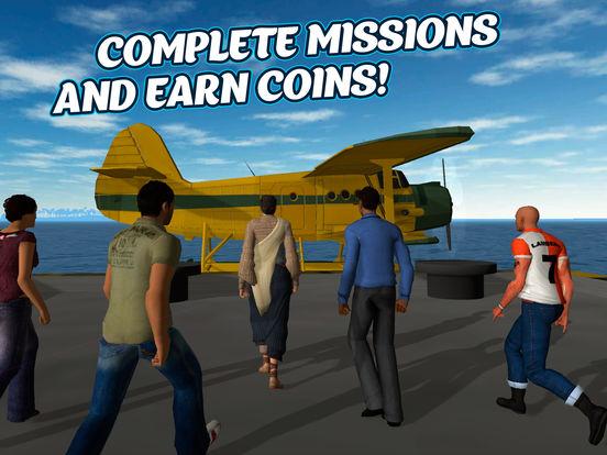 Sea Plane Pilot Simulator 3D Full Screenshots