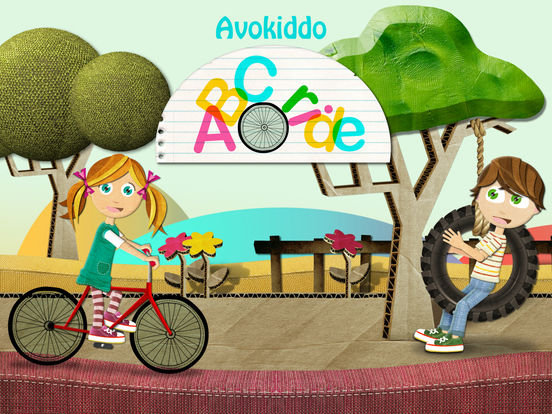 Avokiddo ABC Ride - Fun Alphabet & Spelling Games iPad